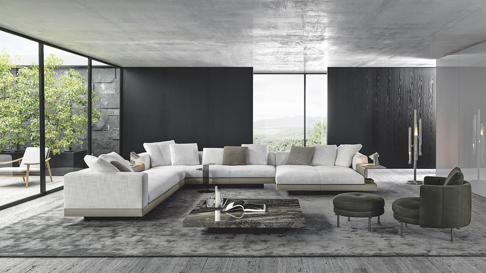 Minotti Embraces Indoor-Outdoor Living