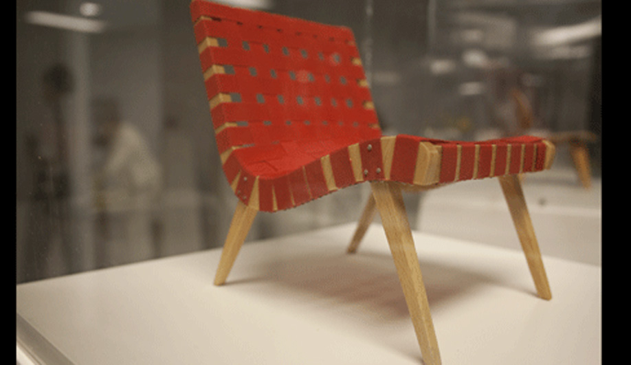 On exhibit - Vitra's scaled down classics 03