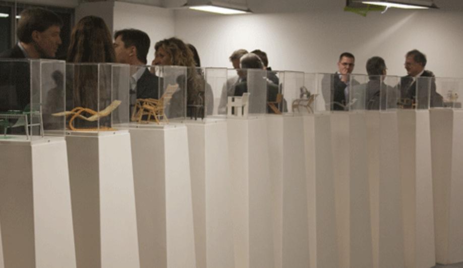 On exhibit - Vitra's scaled down classics 04