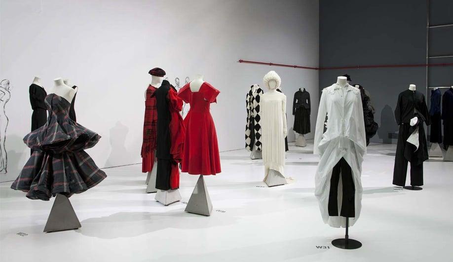 On exhibit The genius couture of Yohji Yamamoto 01
