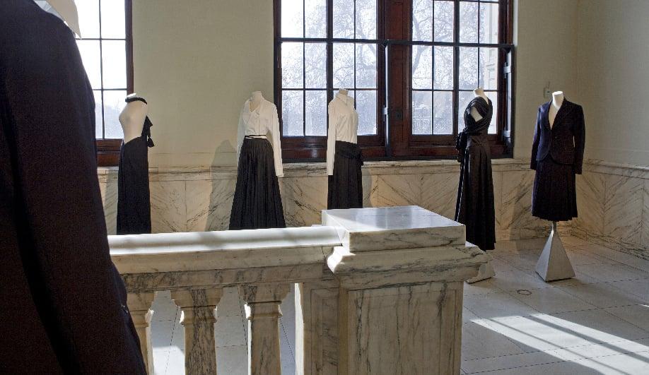 On exhibit The genius couture of Yohji Yamamoto 02