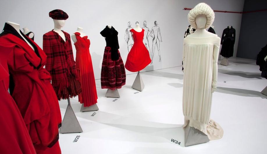 On exhibit The genius couture of Yohji Yamamoto 04