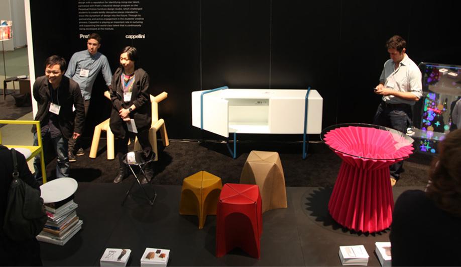 Azure in NYC Pratt Institute teams up with Cappellini 02