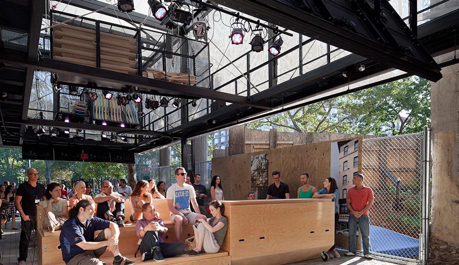 BMW Guggenheim Lab opens in New York 02