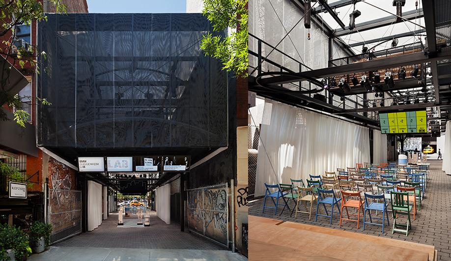 BMW Guggenheim Lab opens in New York 04