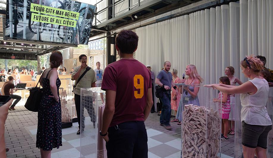 BMW Guggenheim Lab opens in New York 06