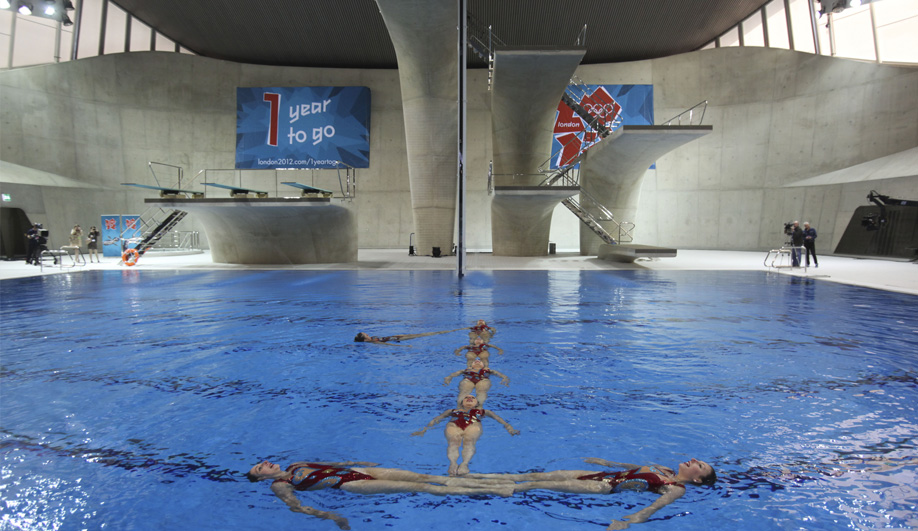 Zaha Hadid's Olympic Aquatics Centre 04