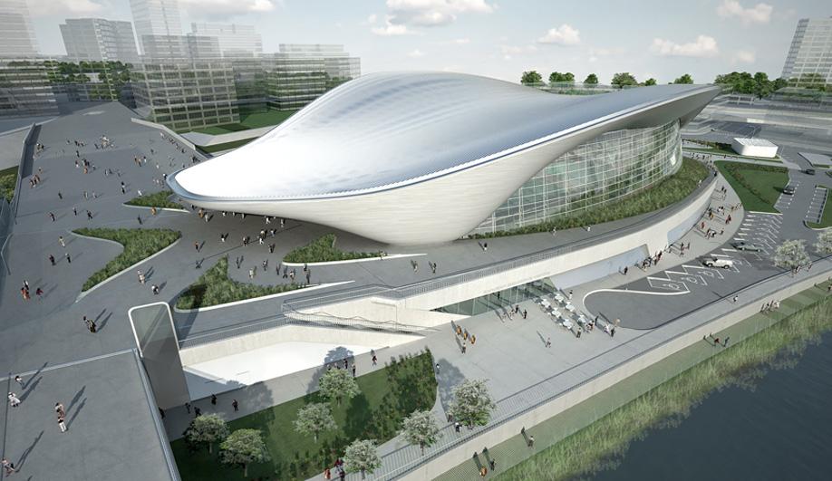 Zaha Hadid's Olympic Aquatics Centre 07