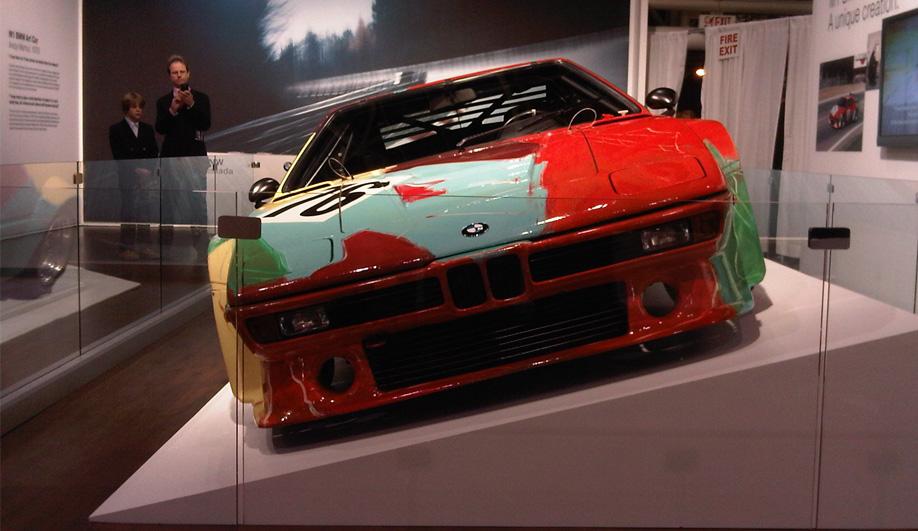 Art on Wheels Andy Warhols BMW M1