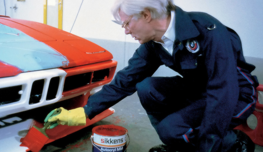 Art on Wheels Andy Warhols BMW M1 02