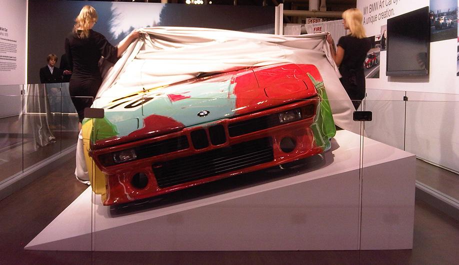 Art on Wheels Andy Warhols BMW M1 04