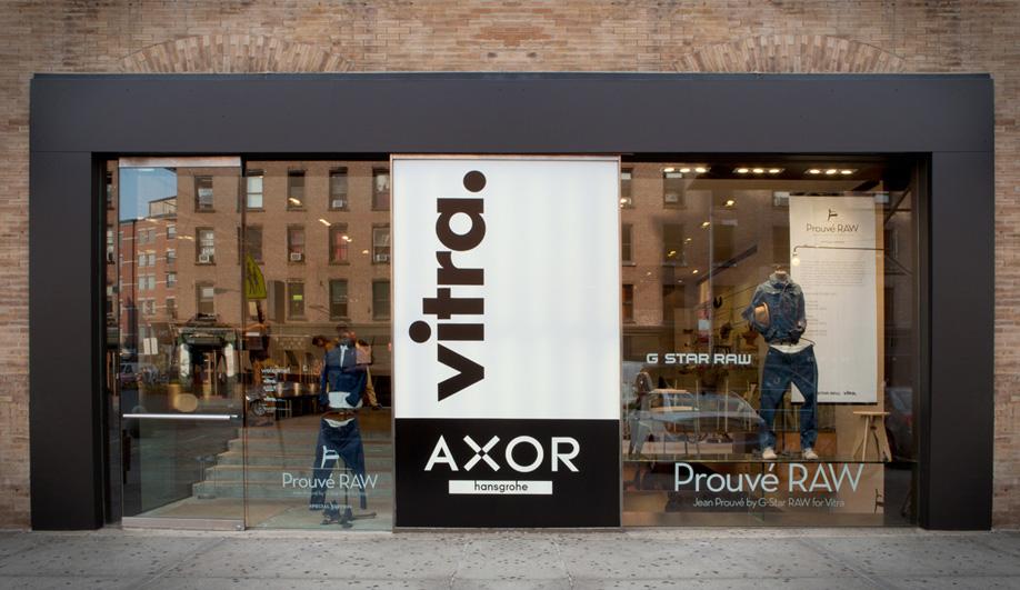 Axor joins Vitras refurbished Manhattan showroom 01