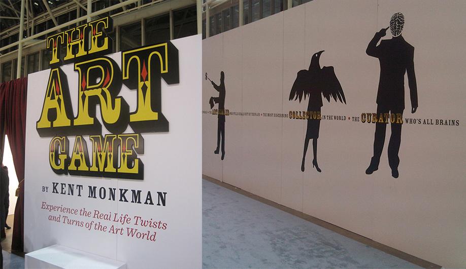 The Art Game Kent Monkmans amazing art installation 01