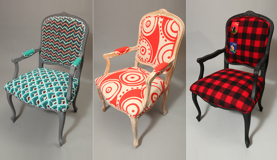 13 amazing re-designs of the Louis XIV chair 03