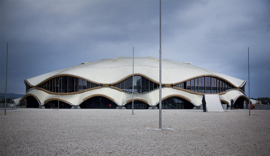 Mega sports and cultural complex in Slovenia 01
