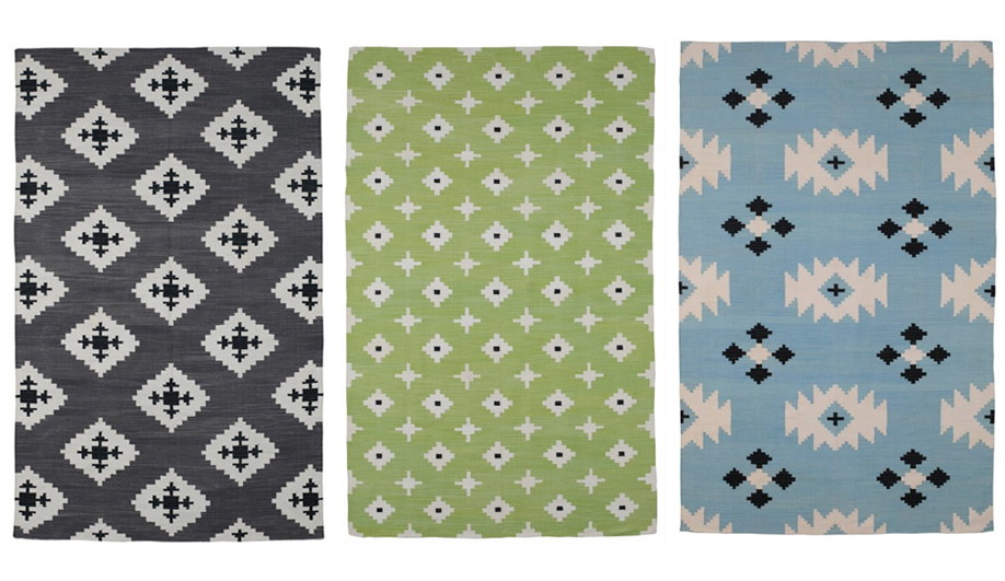 Three colourful rug collections 01