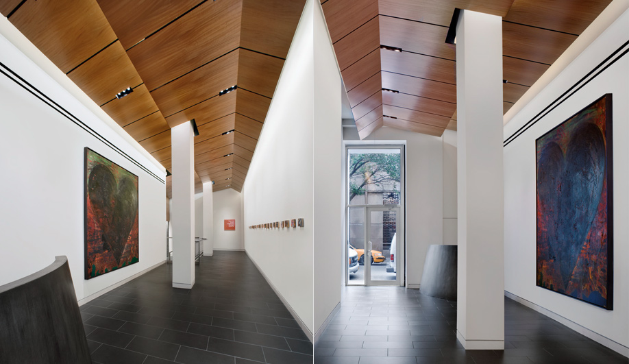 The New York School of Interior Designs vibrant new lobby 02