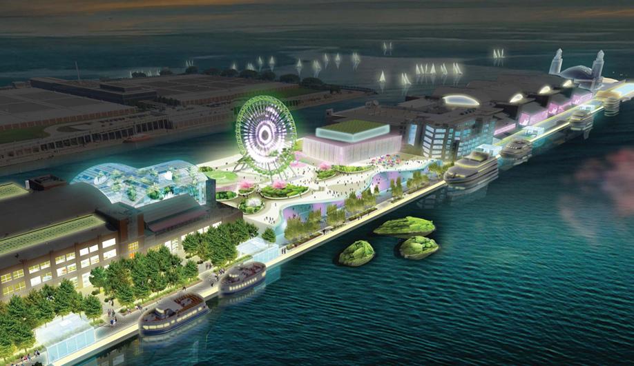 James Corner wins Navy Pier redesign 01