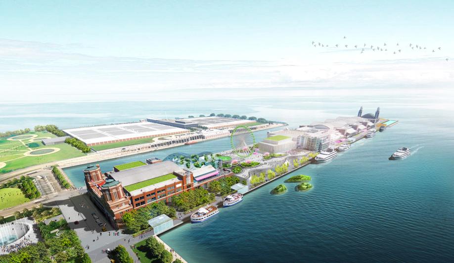 James Corner wins Navy Pier redesign 02