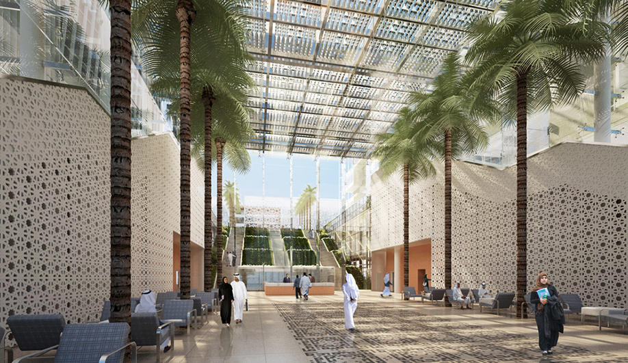 SOMs state-of-the-art hospital for Abu Dhabi 02