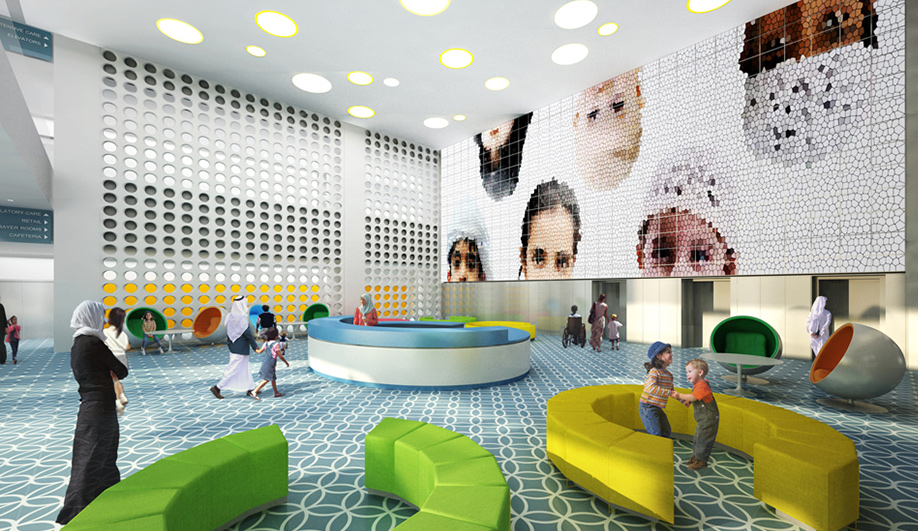 SOMs state-of-the-art hospital for Abu Dhabi 04