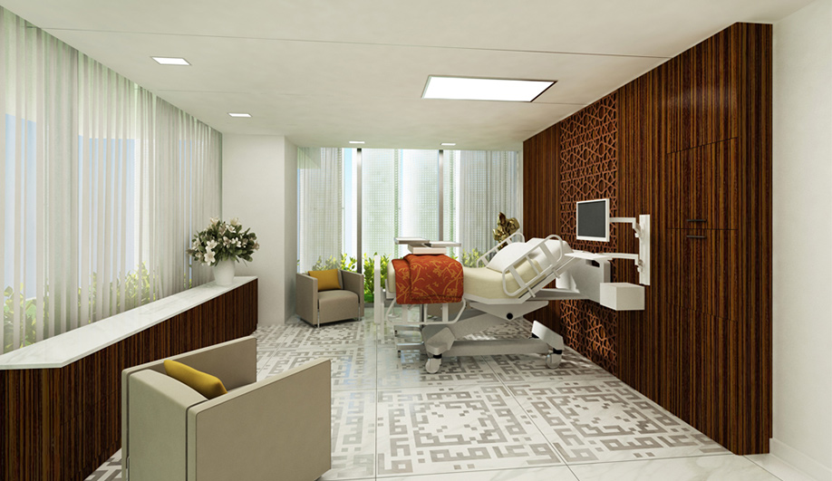 SOMs state-of-the-art hospital for Abu Dhabi 05