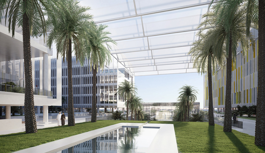 SOMs state-of-the-art hospital for Abu Dhabi 06