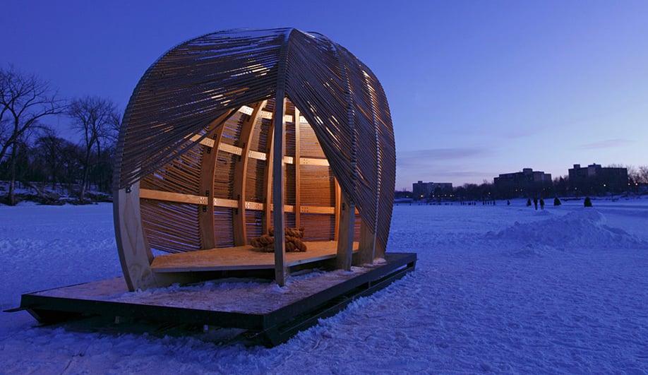 Warming Huts for a weird winter 06