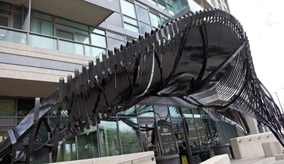 Vito Acconcis wild public art piece in Toronto 01