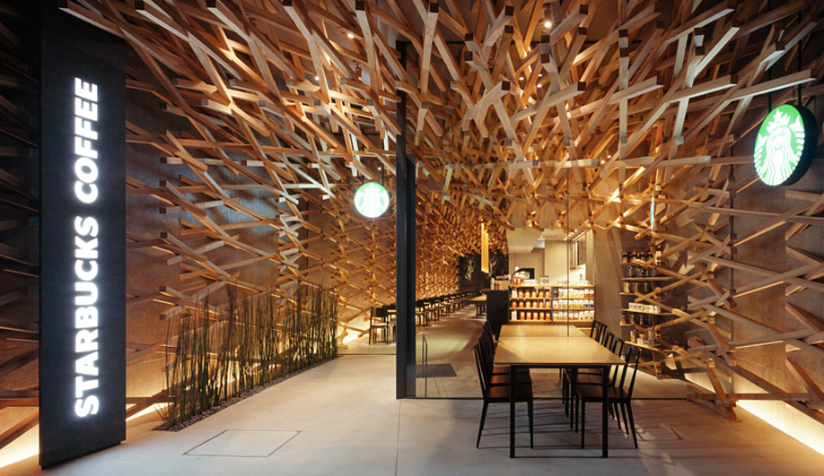Kengo Kuma does Starbucks