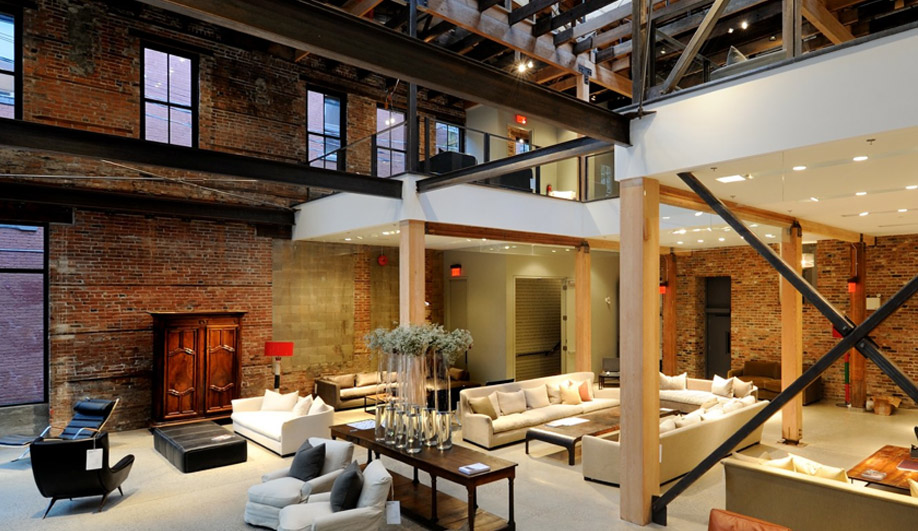 Montauk Sofa's stunning new showroom