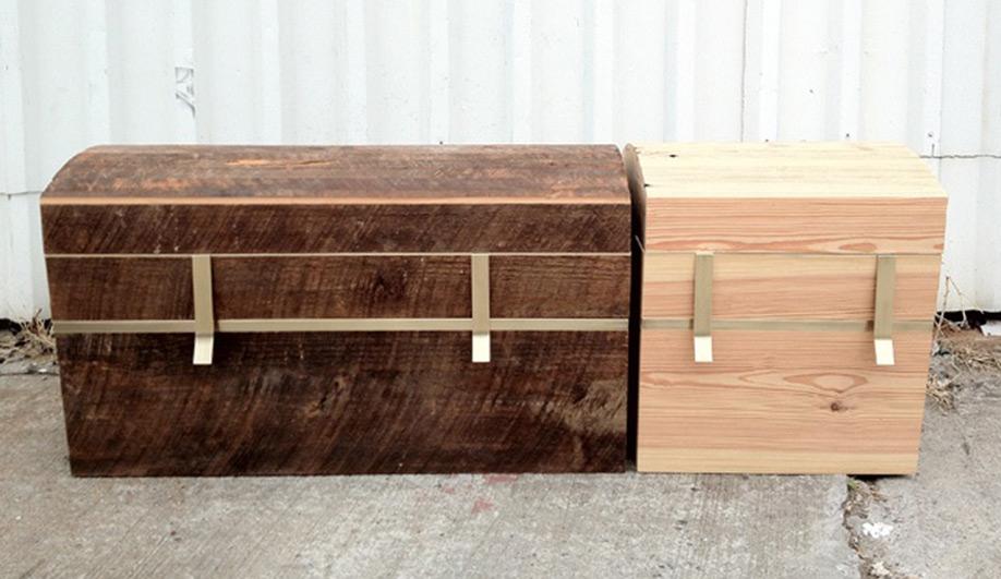 New York Design Week Salvaged wood works 03