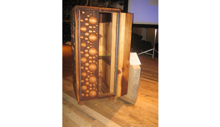 New York Design Week Salvaged wood works 05