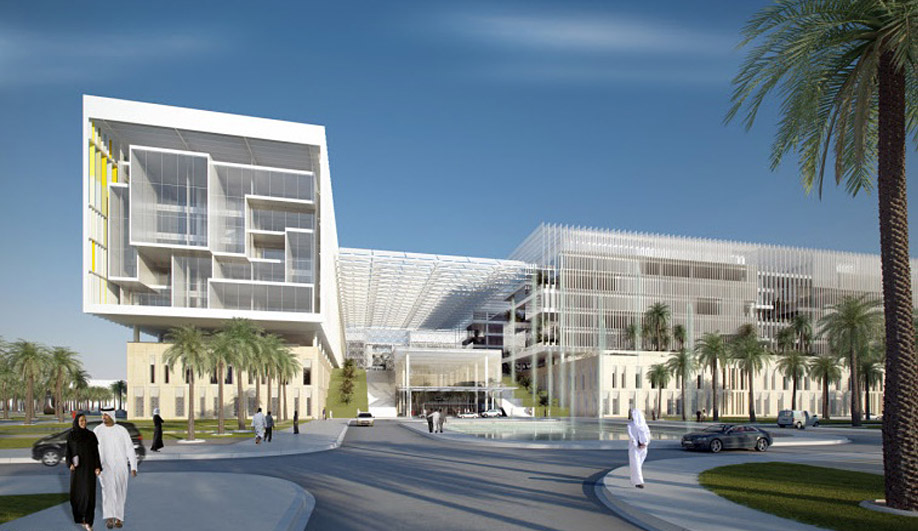 SOM's state-of-the-art hospital for Abu Dhabi