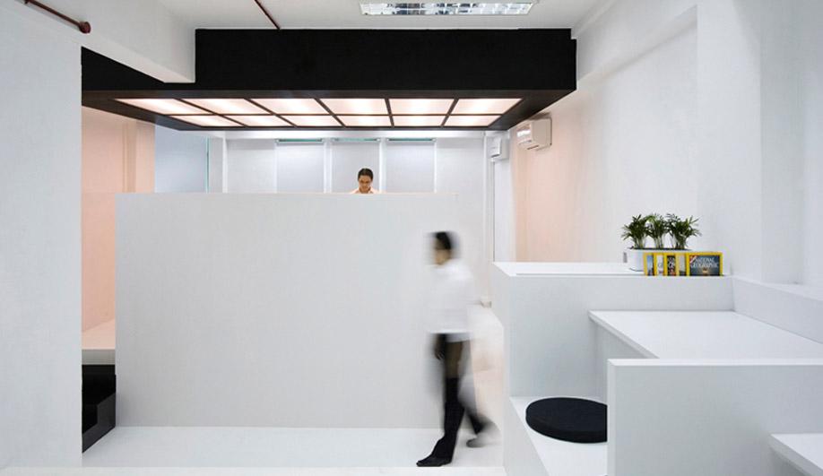 Studio SKLIM's super-minimalist Thin Office