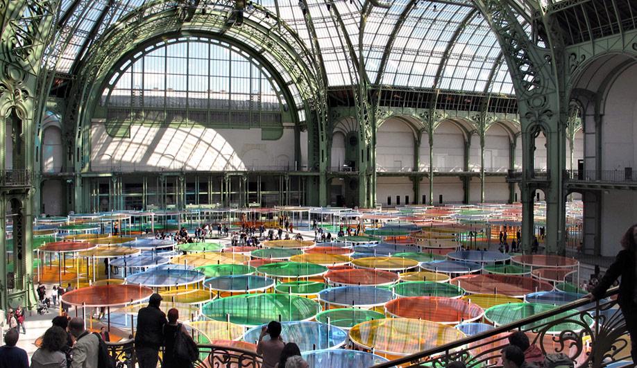 The Grand Palais colourful canopy 02
