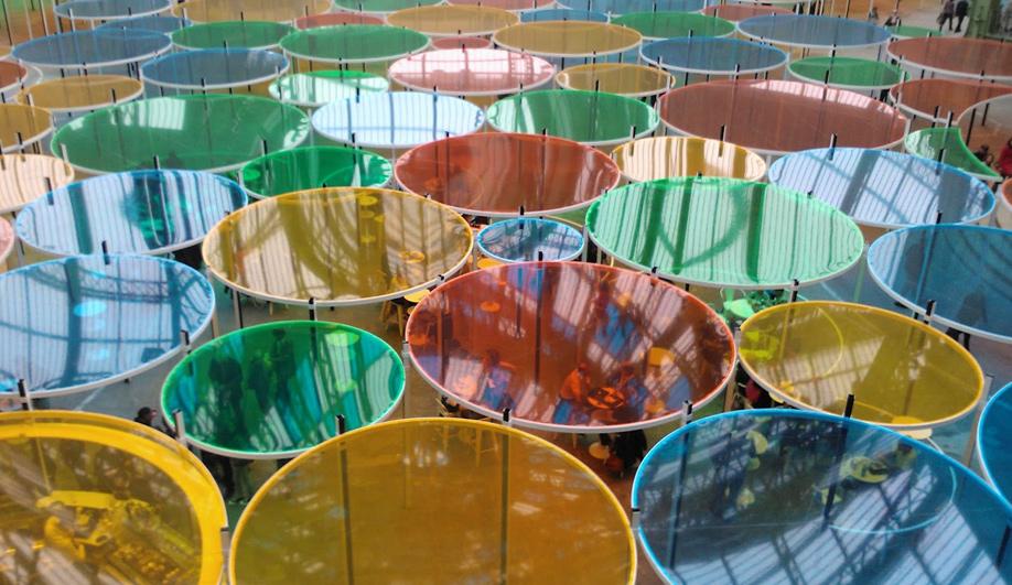 The Grand Palais colourful canopy 03