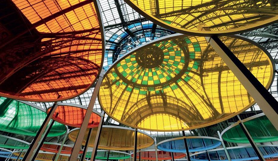 The Grand Palais colourful canopy 05