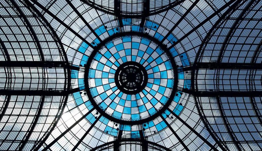 The Grand Palais colourful canopy 06