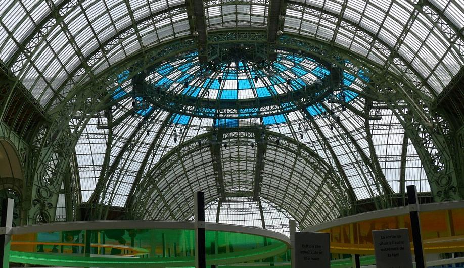 The Grand Palais colourful canopy 07