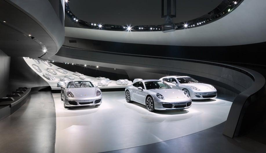 Porsches pavilion at Autostadt 05