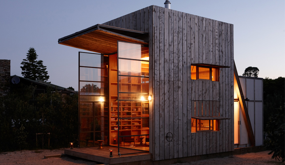 Summer home A mobile beach house in New Zealand 01