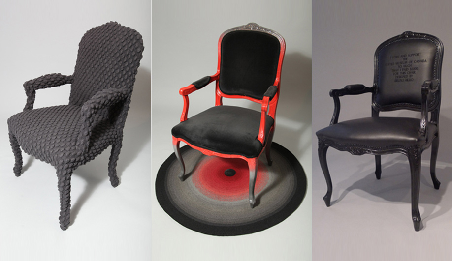 Left To Right: Reworked Louis XIV Chairs By Bookhou, Brothers Dressler And  Kathryn Walter
