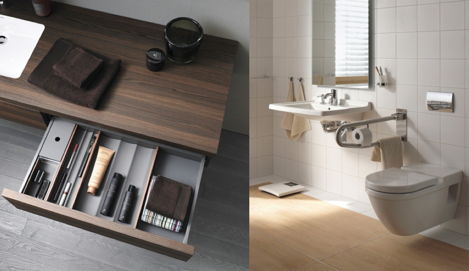 Bath fixtures with a universal design 03