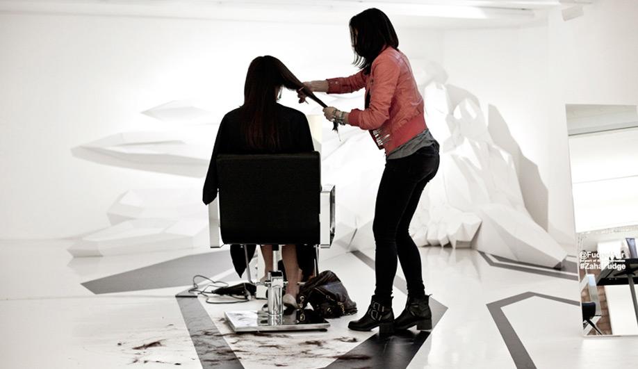 Fudge Hair Salon by Zaha Hadid Architects 01