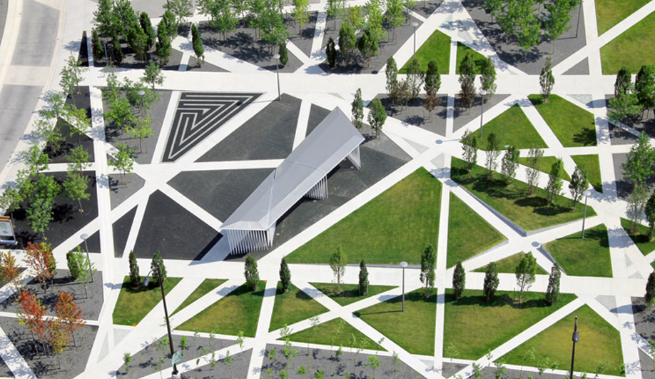 Gh3 s maze of a park opens in mississauga azure magazine for Architecture firms mississauga