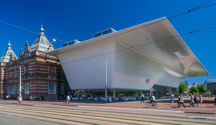 The revamped Stedelijk Museum makes a splash
