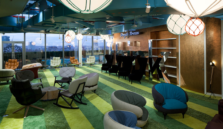 Google 39 S Wildly Eclectic London Office Azure Magazine