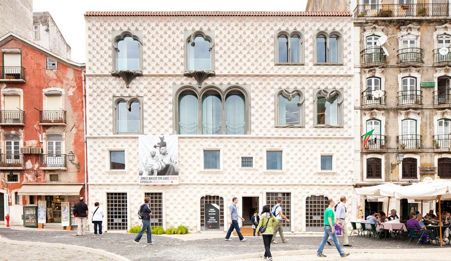 The stunning José Saramago foundation in Lisbon