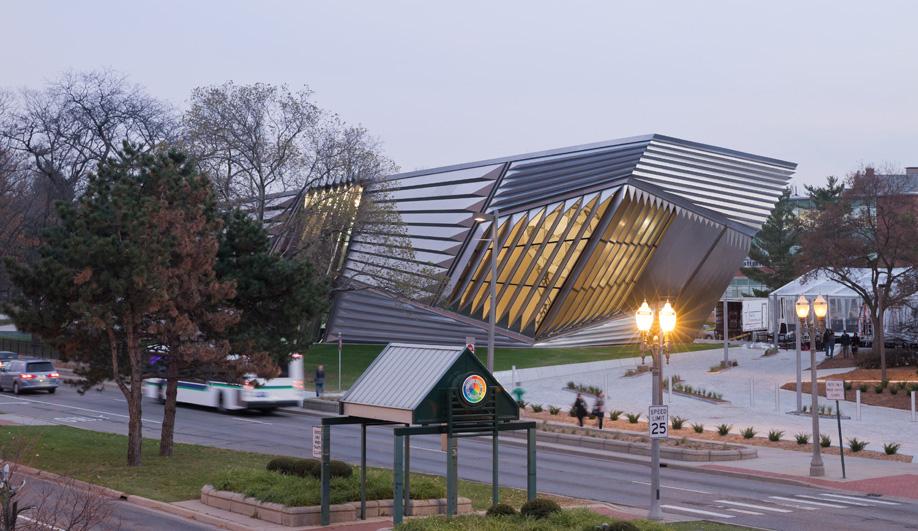Zaha Hadid's Broad Art Museum